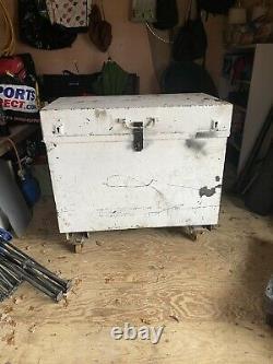 Sentribox Site Store Coffre-fort Boîte À Outils Garage Workshop On Wheels