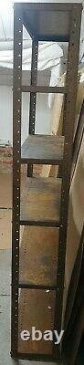 Tablettes Vintage Racking Métal Stockage Garage Unité Atelier Industriel Chambre Magasin