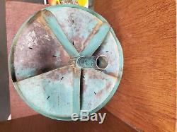 Vintage 4 Tier Parts Bin Countertop Rotating-quincaillerie-garage-industriel