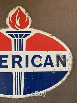Vintage Dealer Original Essence American Sign Rare Country Store Huile Garage