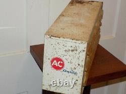 Vintage Guide Ca Lampes Miniatures Métal Métal Garage Cabinet De Garage
