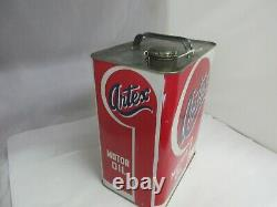 Vintage Publicité Artex Motor Oil 2 Gallon Can Tin Garage Store 973-y
