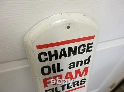 Vintage Publicité Fram Filtres Thermomètre Garage Store Auto Petroliana A-154