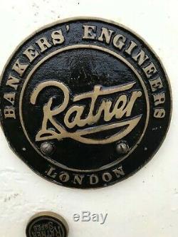 Vintage Ratner Sécurité 1023 # Boissons Nice Placard, Magasin De Cigares, Partie De L'hôtel